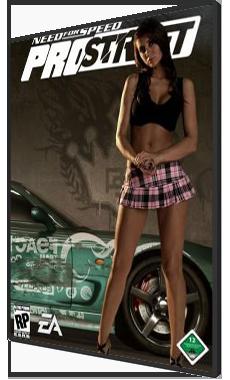 Скачать Need For Speed PRO STREET 16 скрытых машин + No-DVD 1.1 бесплатн